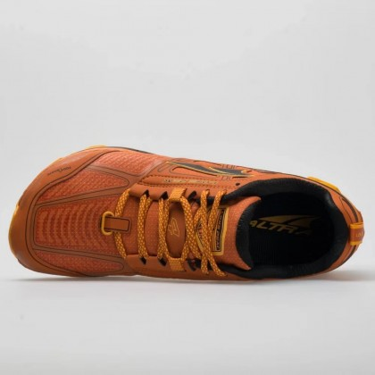 ALTRA LONE PEAK 4 MEN'S LOW RSM WATERPROOF TRAIL RUNNING - BURNT ORANGE