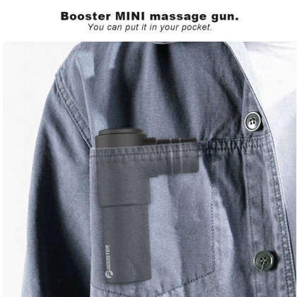 Booster Mini body Muscle massage gun hand-held Pocket Neck Massager Pain Therapy Stimulator For Muscle Relax