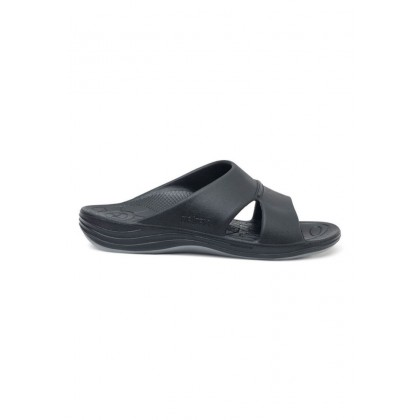 Aetrex Men's Bali Orthotic Slides - Black