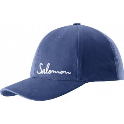 Salomon Logo Cap - Deep Colbalt