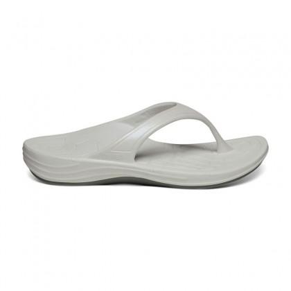 Aetrex Women Fiji Flip - White