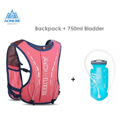 AONIJIE C9105 Ultra Vest 5L Hydration Backpack Cute Drawing Pack Bag Children Cross-country Backpack For 6 to 12 Years