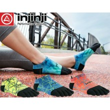 Injinji Performance 2.0 Run LightWeight No Show Toesocks  (Size M)