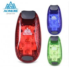 AONIJIE LED Safety Warning Lamp Running LED Bicycle Helmet light