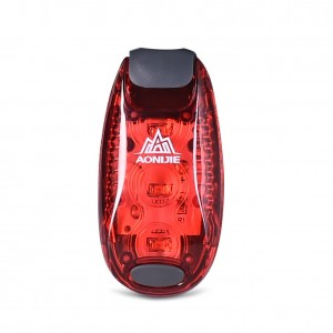 AONIJIE LED Safety Warning Lamp Running LED Bicycle Helmet light