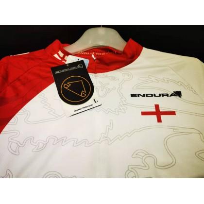 Authentic Endura England Flag Short Sleeve Jersey