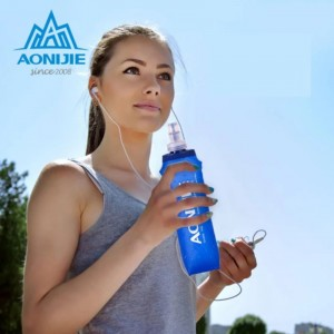 AONIJIE 170ml/250ml/500ml Soft Flask TPU Squeeze Outdoor Sports