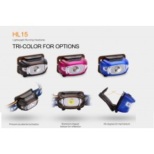 Fenix HL15 LED Headlamp, Headlight