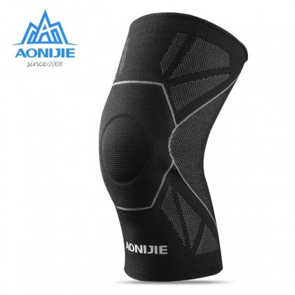 AONIJIE E4108 One Piece Protective Knee Brace Support Compression Sleeve Knee Pad Wrap Volleyball Kneepad For Arthritis Running