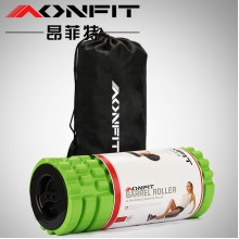 AONFIT Fitness Massage Roller Foam Solid Pillar Yoga Barrel