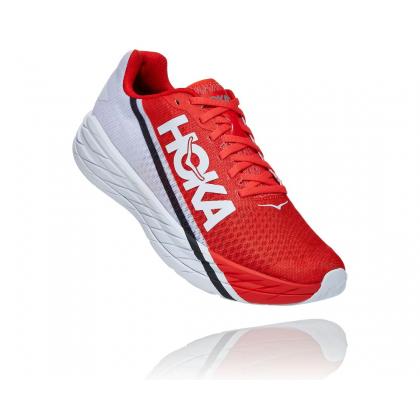 [Pre-Order] HOKA ONE ONE Rocket X Unisex Shoes, Fiesta/Black