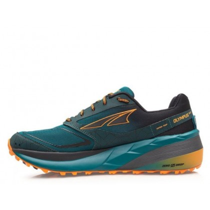 [STOCK CLEARANCE] Altra Olympus 3.5 Men's Shoes, Green/Orange