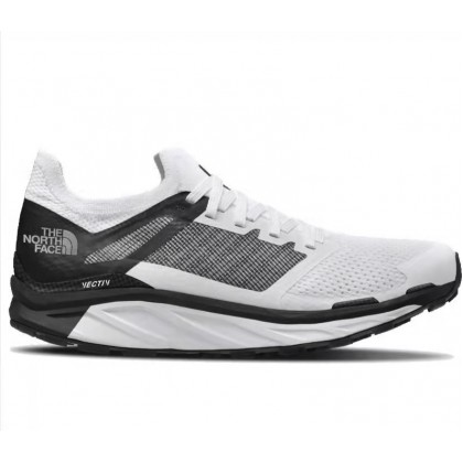 THE NORTH FACE MEN'S FLIGHT VECTIV  TRAIL RUNNING SHOES, TNF WHITE