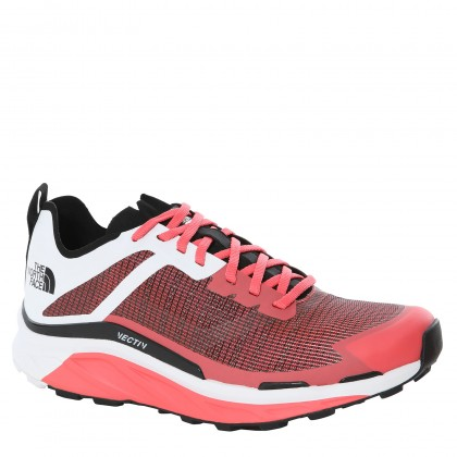 THE NORTH FACE WOMEN'S VECTIV INFINITE TRAIL RUNNING SHOES, RASPBERRY WHITE