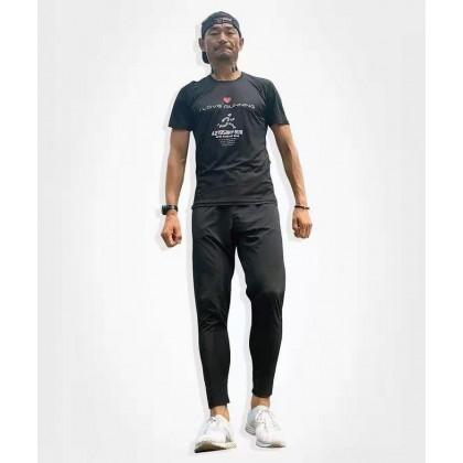 I Love Running Men's Trail Race Pants For Men