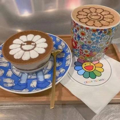 100% Authentic Takashi Murakami Kaikai Kiki Flower Mug