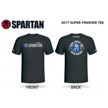 Spartan Race Super Finisher Tee 2017 Size S
