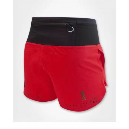 I Love Running Women's 5 inch Trail Shorts, Red