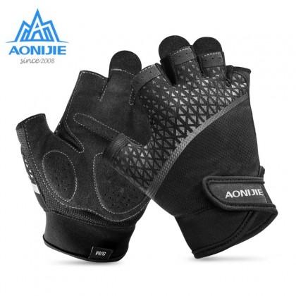 AONIJIE M-52 Unisex Outdoor Sports Half Finger Gloves