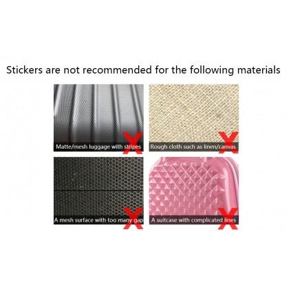 26pcs/pack Waterproof PVC Stickers Skateboard Suitcase Snowboard Phone Laptop Sticker