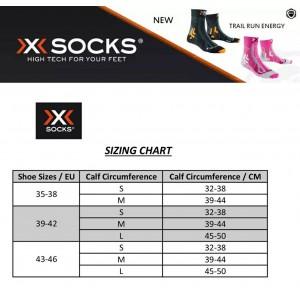 X-Socks Trail Run Energy Short Running Socks