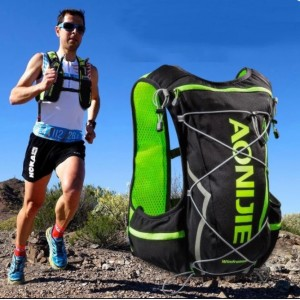 Aonijie WindRunner 10L Hydration Race Pack Vest Backpack c/w water Bladder