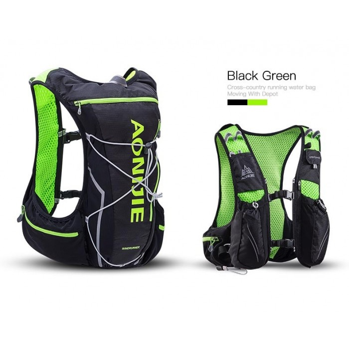 04fc9a7465 Aonijie WindRunner 10L Hydration Race Pack Vest Backpack c w water Bladder