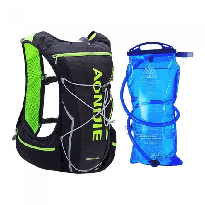 11491ed97c Aonijie WindRunner 10L Hydration Race Pack Vest Backpack c/w water Bladder
