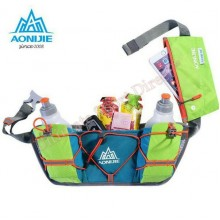 AONIJIE Multifunctional Waist Bag with 2 x 250ml bottles