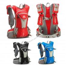 AONIJIE 12L Unisex Waterproof Nylon Running Backpack with 2L water bag