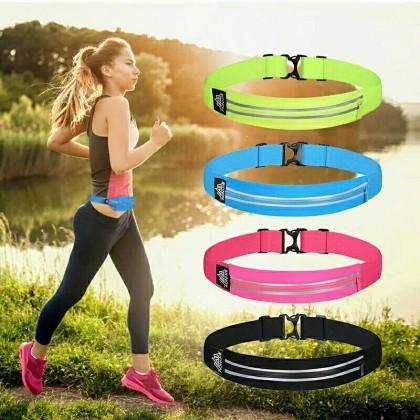 AONIJIE Running Marathon Waist Bag Pack Sports Fitness Double Pocket