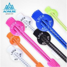 AONIJIE Reflective Lock Laces Elastic Shoe Laces Lazy Lock No Tie