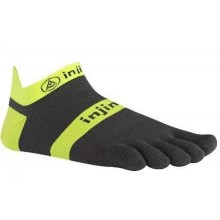 Injinji Run 2.0 Lightweight No-Show Toe Socks-Slate