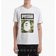 Puma Logo SS Tee x BAPE Clearance