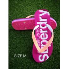 Superdry Women's Flip Flops -Pink M