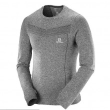Salomon Park Seamless LS Tee Men - Grey