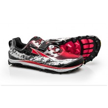 ALTRA KING MT MT MENS TRAIL RUNNING SHOES - BLACK/RED  stock Clearance