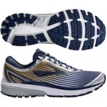 Brooks Ghost 10 LE- White/Navy/Gold *Limited Edition, Limited Sizes*