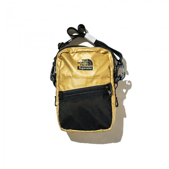 68e9eb14f Authentic Supreme X The North Face Metallic Shoulder Bag