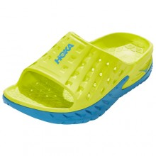 Hoka One One Ora Recovery Slides | Yellow/Blue