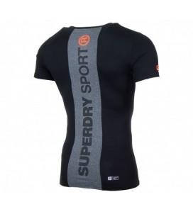 Superdry Gym Basic Sport Runner T-shirt Black