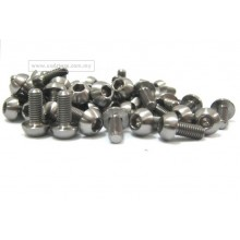 M5 x 12mm Allen Pan Head Ti Screw Bolts for Bicycle