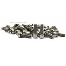 M6 x 18mm Bullet Head Allen Hex Ti Screw Bolt with Washer