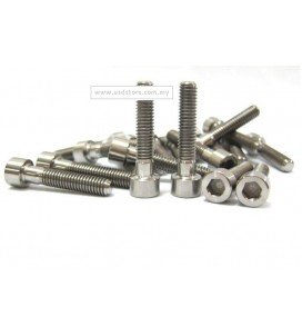 M6 x 30mm Allen Head Cap Ti Screw Bolts for Bicycle