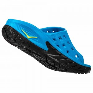 Hoka One One Ora Recovery Slides | Blue/Black