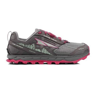 ALTRA WOMEN'S LONE PEAK 4.0 TRAIL RUNNING SHOE - RASPBERRY