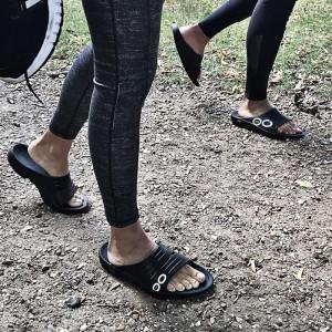 OOFOS Unisex OOahh Sport Slide Sandal - Black