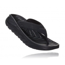 HOKA ONE ONE MEN'S ORA RECOVERY FLIP 2 - BLACK