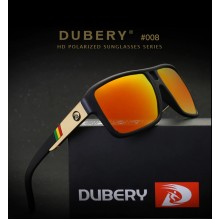 DUBERY DD008 Polarized Sunglasses Men's Square Driver Shades Male Sun Glasses