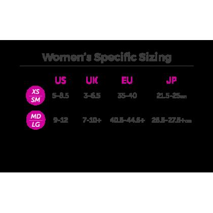 Injinji Spectrum Women's Run Mini-Crew -Fern
